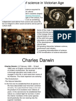 The Role of Science in Victorian Age