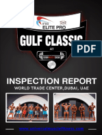 Gulf Classic Inspection Report With Ifbb