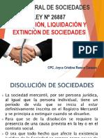 Disolucion de Sociedades 11-11-19