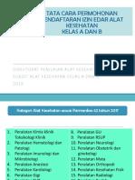 Tata Cara Permohonan Pendaftaran Izin Edar Alkes Kelas A dan B.pdf