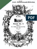 Mozart sonata da chiesa KV144