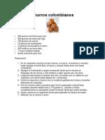 Cómo preparar Churros colombianos carlos PDF.pdf