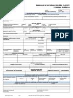 planilla de solicitud de cuenta jurídica banco mercantil