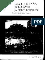García Cárcel [Coord.] (2002). La España de Los Borbones