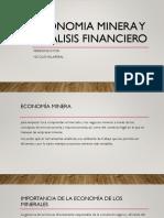 economía minera y análisis financiero