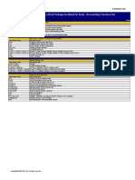SAP ERP A1FS Processes List