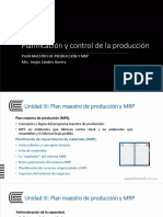 Sesión Nro 7 - Planificación de Requerimiento de Los Materiales