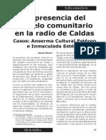 Casos de Radio Comunitaria