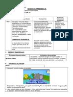 Sesion de Aprendizaje Ciencia y Ambiente Mundo Nuevo (21!11!2019)
