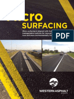 Micro Surfacing Brochure