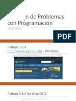 Uso de Python