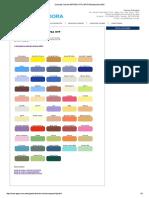 Carta de Colores ANYPSA HTP _ APYD Distribuidora SAC