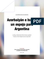 Relaciones militares entre Israel  y Azerbaiyan