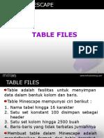 tabel files