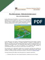 PRACTICA 10 Picoturbinas Hidraulicas