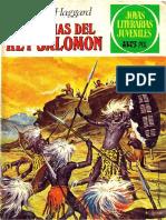 Joyas Literarias Juveniles - 156 - Las Minas Del Rey Salomon