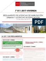 D.S.N°011-2017-VIVIENDA  2019