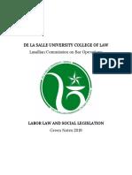 labor law and soc legis