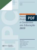 Investigação, Práticas e Contextos Em Educação - Livro 02 - 2019