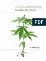 Agronomy and Photosynthesis Physiology of Hemp (Tang, 2018)