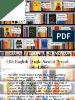 Timeline of Literature