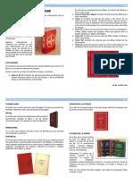 Los Libros Litúrgico Acolitos Ficha