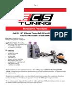 PDF 4034 Audi B6 A4 1.8T & VW Passat B5.5 Timing Belt Installation