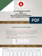 Elecrticity Sector in India