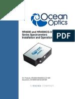 HR4000 Series Spectrometer Manual