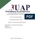 Facultad de Ingenierias y Arquitectura Uap