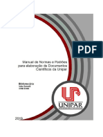 Manual de Normas UNIPAR 2019