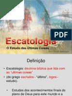 Introdução - Escatologia