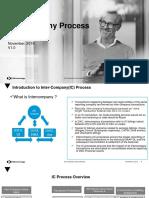 Intercompany Process Overview
