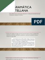 La Gramatica Castellana de Diego Alonso