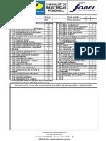Checklist de Manutenção Jobel
