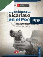 El Fenomeno Del Sicariato en El Peru