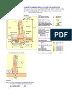 Diseño hidráulico del RESERVORIO  VOL= 264 m³.xls