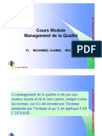 Cours Management Qualité DM 2019