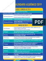 Cft Calendario Academico 2019