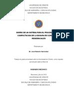 Tesis.DISEÑO DE UN SISTEMA PARA EL PROCESAMIENTO Y COMPACTACION DE LA BASURA EN CONDOMINIOS RESIDENCIALES.docx