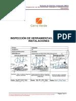 Sgist0001 Estándar de Inspecciones Herramientas e Instalaciones v05