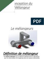 Conception Du Mélengeur