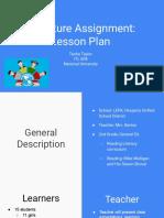 lesson plan for barton
