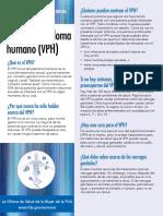 Virus Del Papiloma Humano VPH