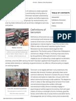 Terrorism Encyclopedia