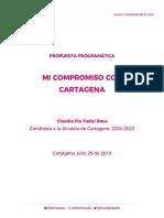 Claudia Fadul - Plan de Gobierno