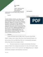 SAF New Jersery Case Final Complaint