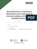 BILBAO - Bioconstrucción y Arquitectura Bioclimática Para La Ejecución de Vivienda Ecológica Unif...