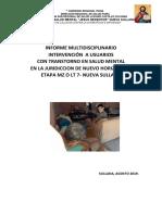 Informe Multidisciplinario Nuevo Horizonte Agosto 2019
