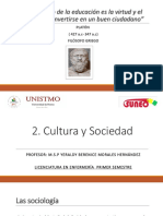 Cultura y sociedad en enfermería